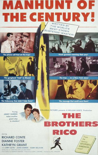 Affiche de Brothers Rico