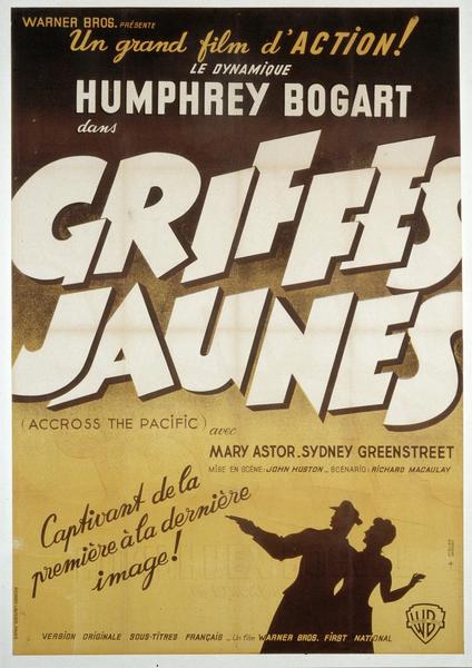 Affiche de Griffes Jaunes