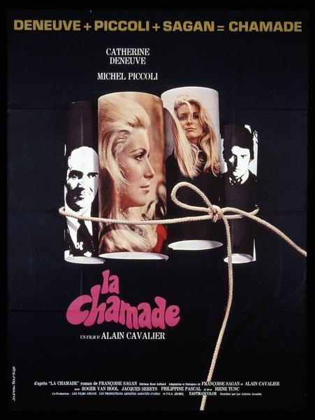 Affiche de La Chamade par Guy Jouineau et Guy Bourduge