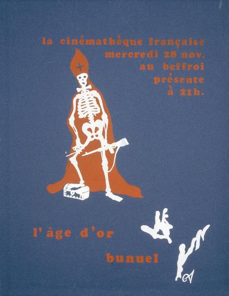 Affiche de L'Âge d'or (Luis Buñuel, 1930)