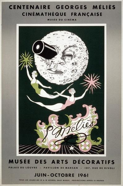 Affiche de l'exposition « Centenaire Georges Méliès »
