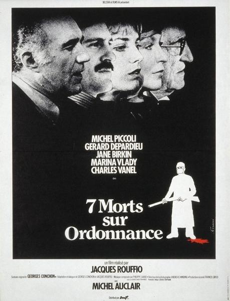 Affiche de Sept morts sur ordonnance par René Ferracci
