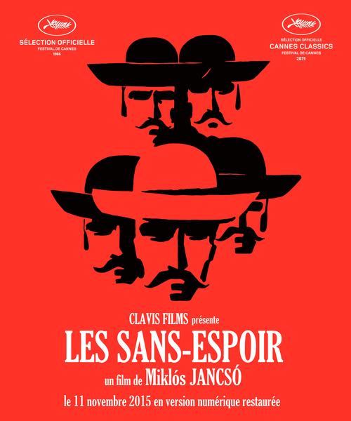 Affiche des Sans-Espoir (Miklós Jancsó, 1965)