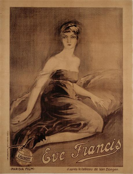 Affiche d'Eve Francis 1