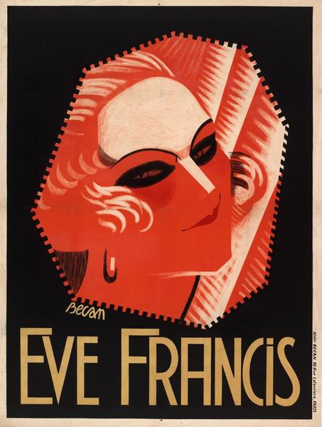 Affiche d'Eve Francis 2