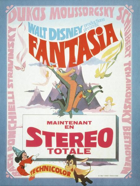 Affiche Fantasia (Disney)