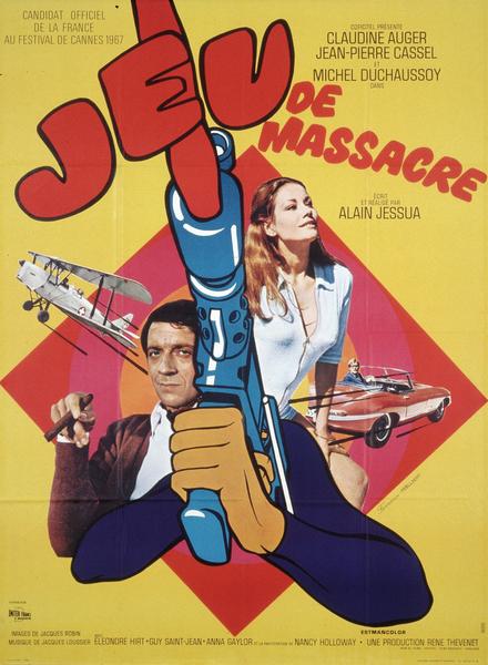 Affiche française de Jeu de massacre