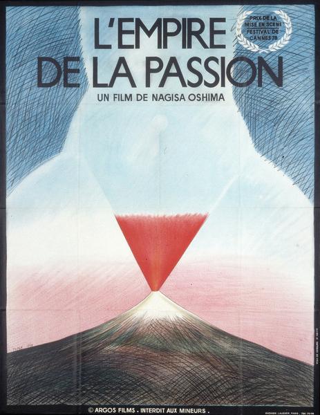 Affiche française L'Empire de la passion