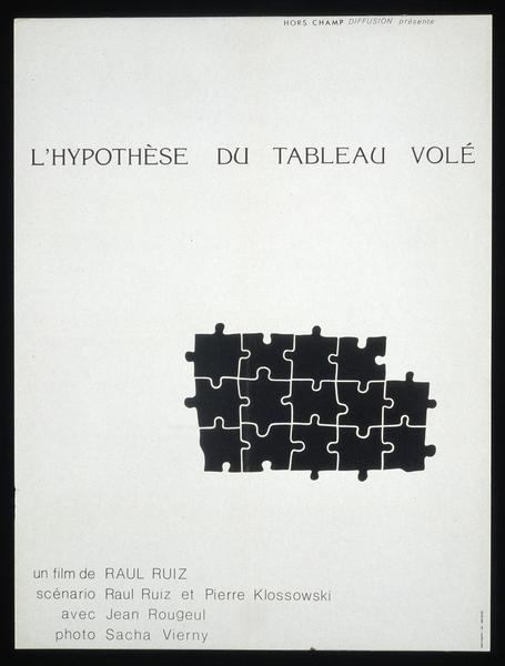 Affiche - L'Hypothèse du tableau volé (Ruiz)