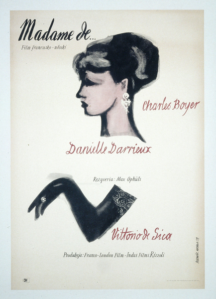 Affiche Madame de (Ophuls)