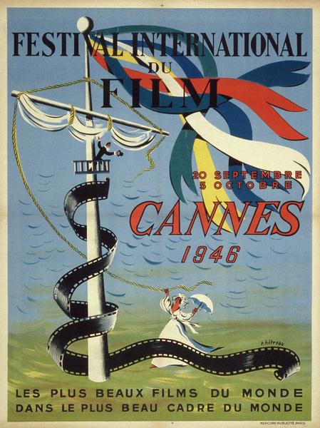 Affiche Festival de Cannes 1946