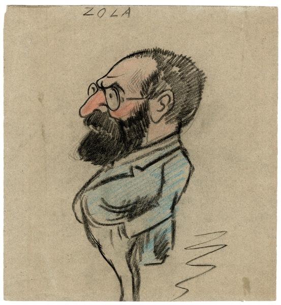 Caricature Zola