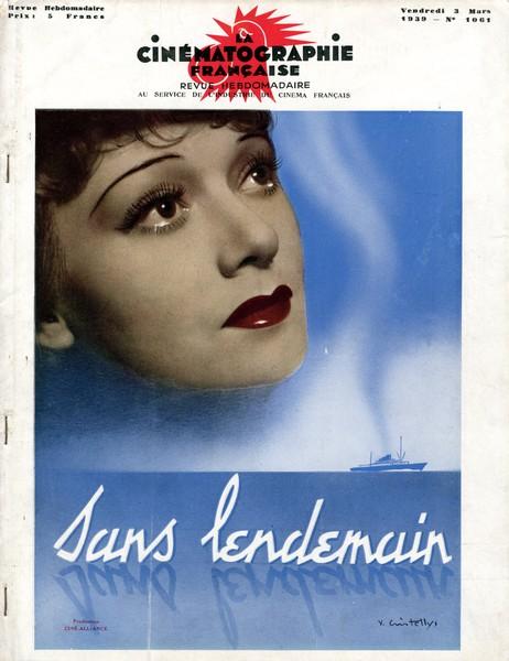 Sans lendemain de Max Ophuls (1939)