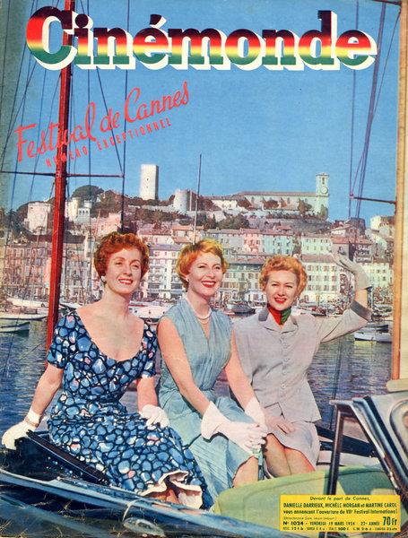 Cinémonde Festival de Cannes 1954