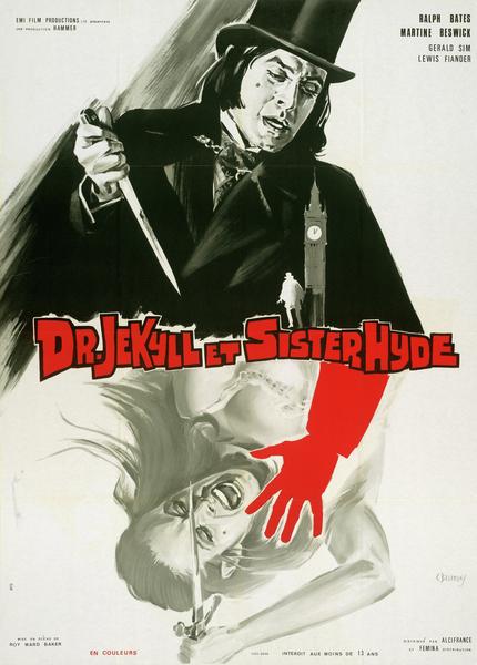 Docteur Jekyll et Sister Hyde par Constantin Belinsky
