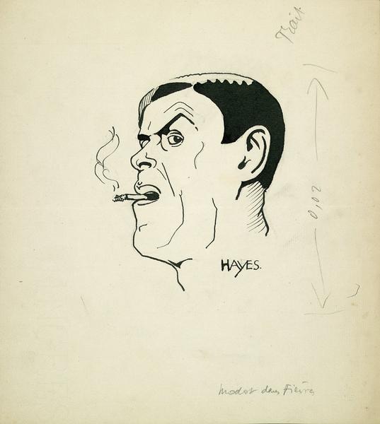 Gaston Modot dans Fièvre par Hayes