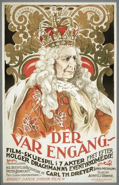 Il était une fois (Carl T. Dreyer) - affiche