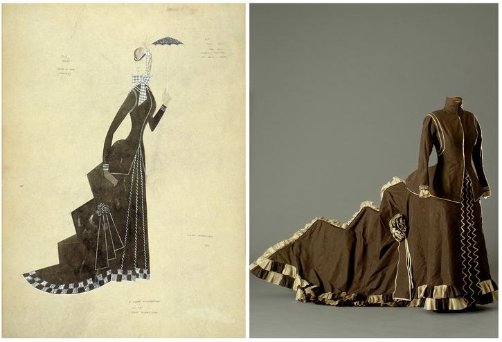 Le costume du « Nana » de Renoir par Claude Autant-Lara