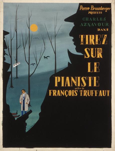 Maquette Affiche de Tirez sur le pianiste 2