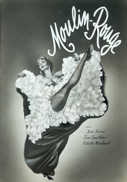 Maquette de la couverture du Film Complet pour Moulin Rouge