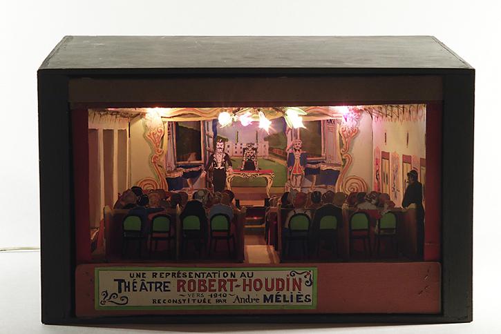Maquette du Theatre Robert-Houdin