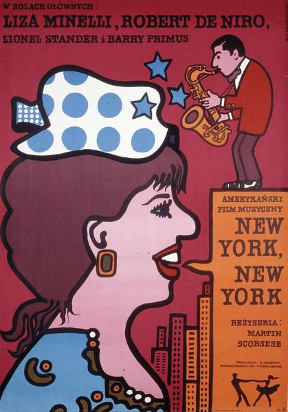 New York New York Affiche