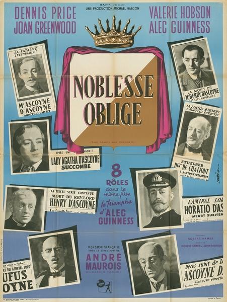 Noblesse Oblige par Jean Mascii