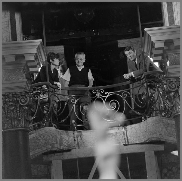 Photographie de tournage de « Comment voler un million de dollars » (William Wyler, 1965)
