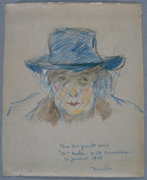 Portrait de Jehanne d'Alcy par Musidora