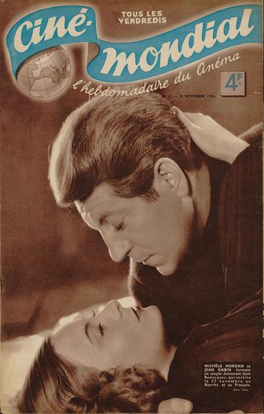 Revue Ciné- Mondial du 28 Novembre 1941