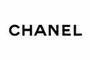 Logo Chanel noir sur blanc