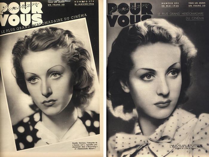 Pour Vous n°374 (16 janvier 1936) / Pour vous n°393 (28 mai 1936)