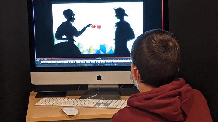 Atelier Silhouettes de contes animées à la façon de Michel Ocelot (6-8 ans)
