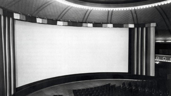 Le système soviétique panoramique Kinopanorama. Conférence de Nikolaï Maïorov