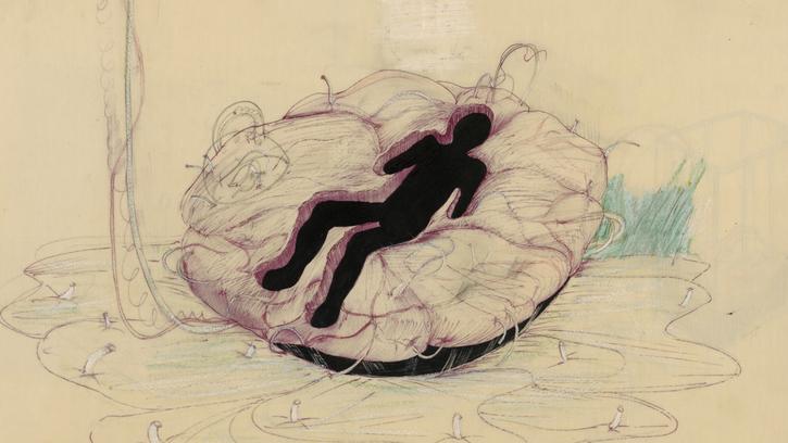 De la gestation des images à la naissance du film: étude des dessins et écrits préparatoires de la machine biomorphique de «Je t'aime, je t'aime» d'Alain Resnais