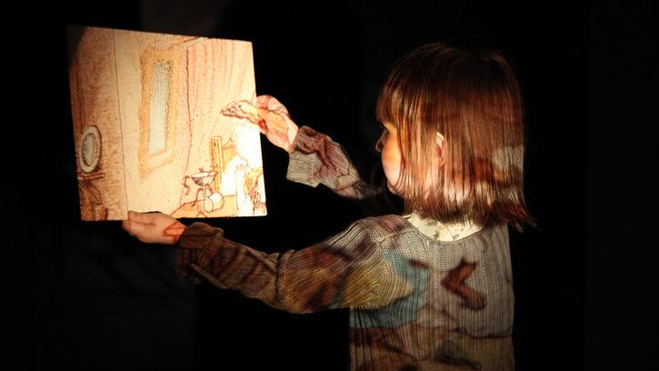 Atelier en famille : traces de lumières