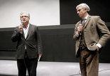 Jeff Lambert (vice-président de la National Film Preservation Foundation) et Pierre Hodgson (interprète)