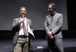 Présentation de Vulcano - Gian Luca Farinelli (Directeur de la Cineteca di Bologna) et Bernard Benoliel (Cinémathèque française)