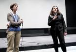 Présentation du film L'eau du Nil : Céline Ruivo (Cinémathèque française) et Béatrice de Pastre (directrice des collections des Archives françaises du film)