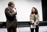 Présentation du film La Maison des morts : Serge Toubiana et Natacha Laurent (déléguée générale de la Cinémathèque de Toulouse)