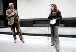 La Danseuse espagnole : Elif Rongen (spécialiste des films muets au EYE Film Institute d'Amsterdam) et Pierre Hodgson (interprète)