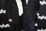 Le producteur, Dominique Besnehard et Serge Toubiana