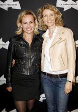 Sandrine Bonnaire et son actrice, Alexandra Lamy