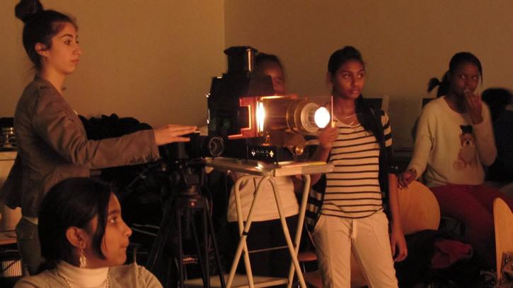 Visite-atelier : Mystères de la projection