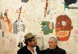 Julian Schnabel et Dennis Hopper