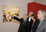 Dennis Hopper, Christine Albanel et Costa-Gavras