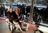 Dennis Hopper et Wim Wenders
