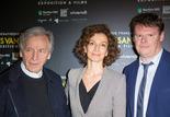 Costa-Gavras, Audrey Azoulay et Frédéric Bonnaud