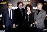 Serge Toubiana, Tim Burton, Helena Bonham Carter, Costa-Gavras