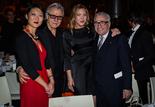 Fleur Pellerin, Ministre de la Culture et de la Communication, Harvey Keitel, Diana Krall et Martin Scorsese